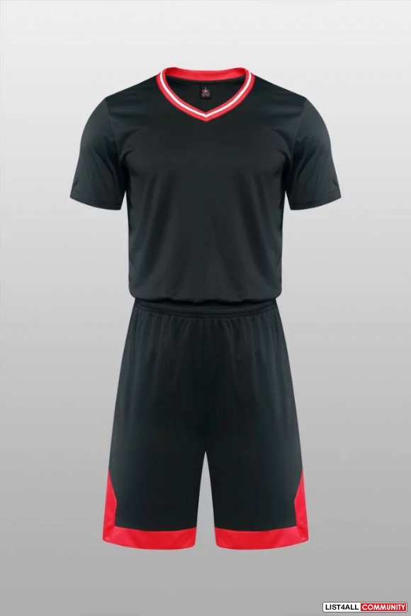 Men's Basketball Jersey Competition Uniforms Suits Breathable Sleevele
