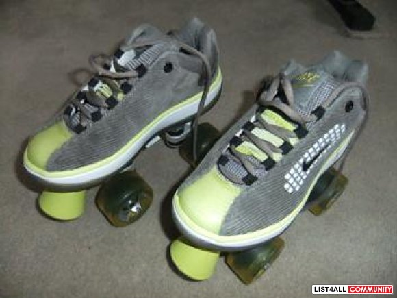 NIKE beachcomber ROLLER SKATES sneakers in/outdoor size 6.5-7 LIKE NEW