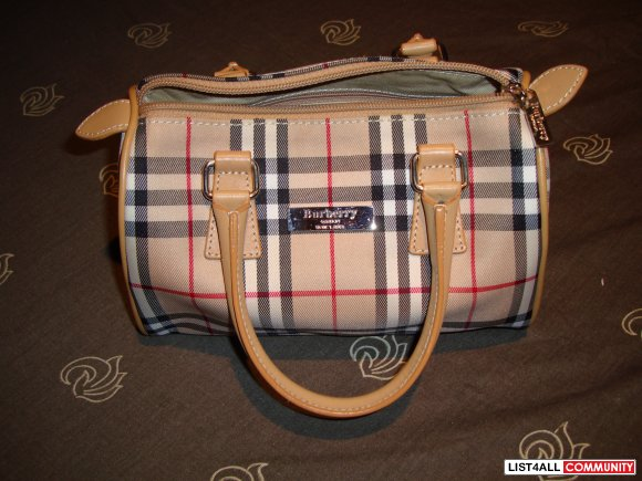 Burberry (Replica) Mini Speedy Bag