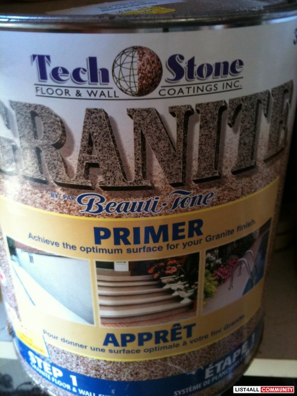 Tech Stone Floor and Wall Granite Coating STEP 1