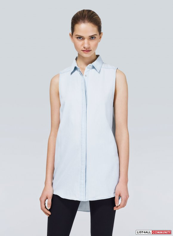 Cheap Monday Sleeveless Chambray