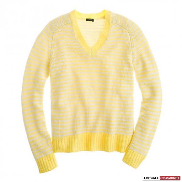 J.Crew Cotton Stripe Sweater