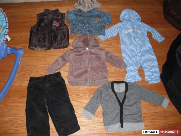 gap, gymboree, disney 18 months to 2t  $20 for the lot