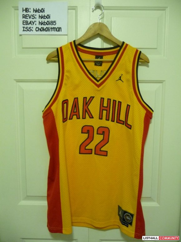 best loved c8898 eeb56 Carmelo Anthony Oak Hill Jersey (replica, Jordan Brand ...