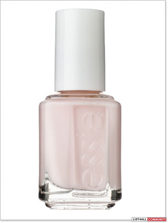 Brand New ESSIE Nail Polish in Lime-Scene (Pale Pink) :: makeupalley ...