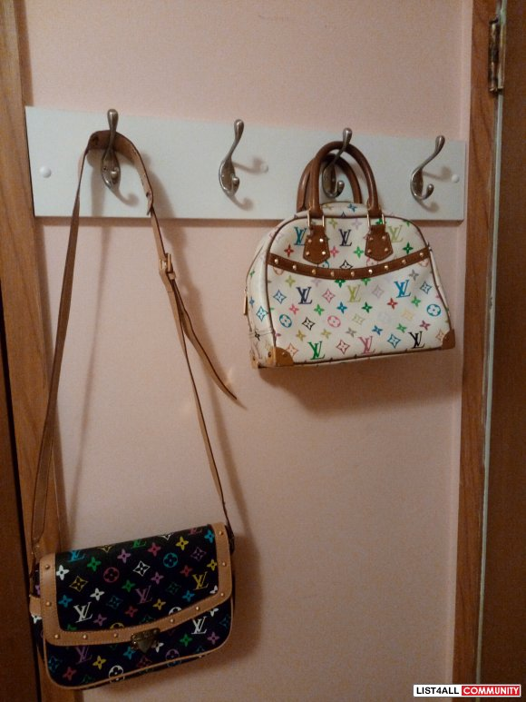 2 small  purses and 1 large tote to sell together. $150 for all 3