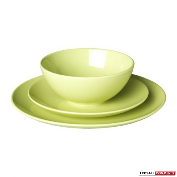 ikea plate set large plates small plates tea cups bowls peaks list4all. Black Bedroom Furniture Sets. Home Design Ideas