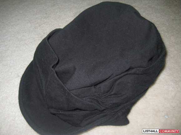 H&M BLACK HAT CAP