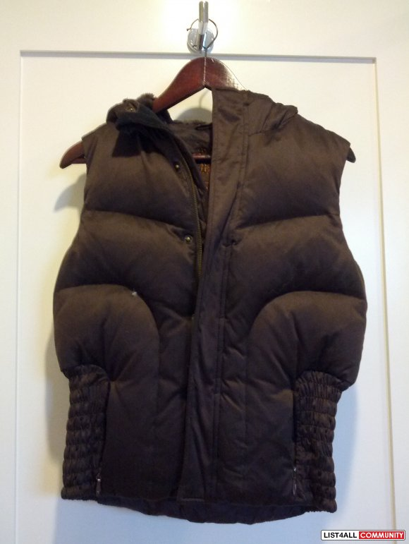 TALULA DOWN FEATHER VEST