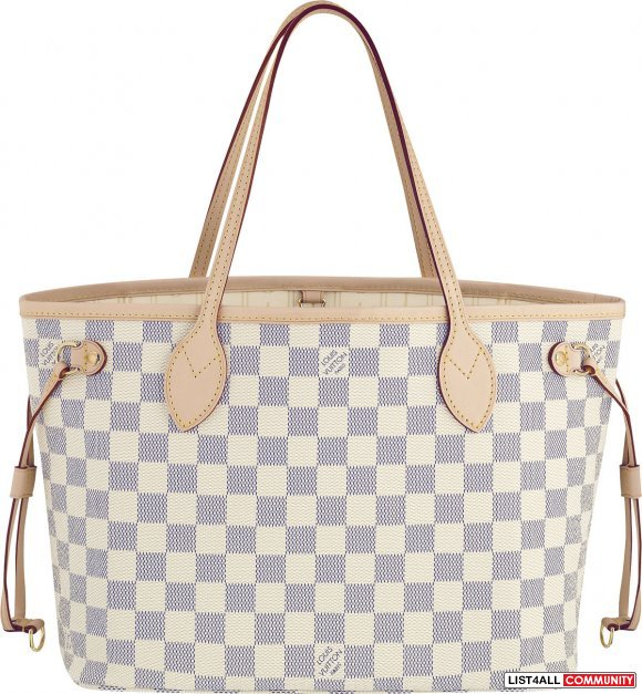 authentic louis vuitton lv neverfull