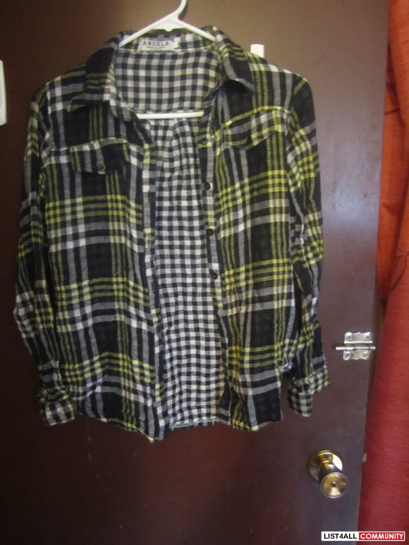 Plaid Shirt- SALE