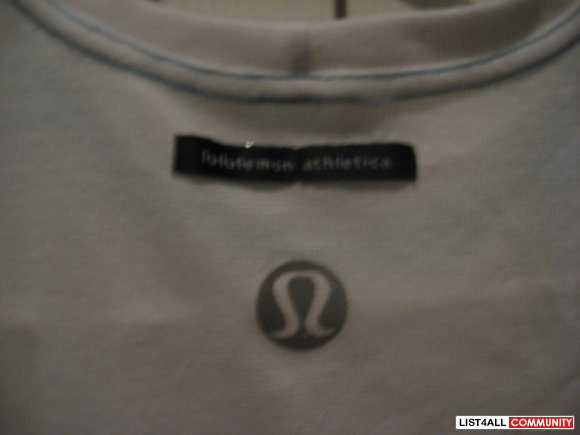 LULULEMON Exercise Shirt