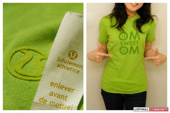 Lululemon home sweet home Tee