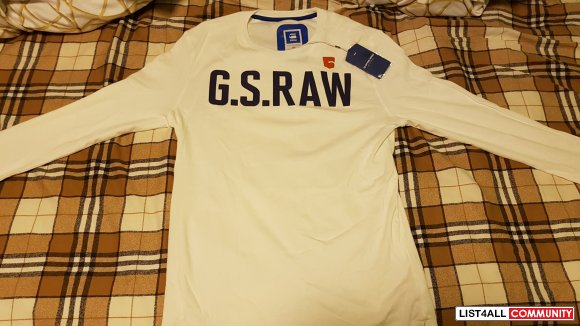 G star raw long sleeve size xl fits large