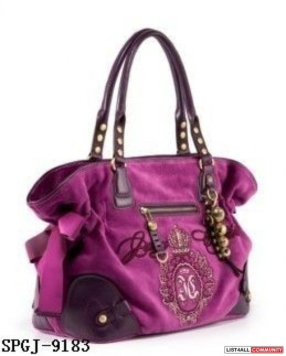 PINK,WHITE,BLACK Juicy HANDBAGS ON SALE