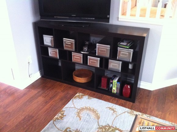 Ikea Expedit Book Case in Black/Brown