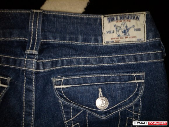 True Religion Size 27 100% Authentic