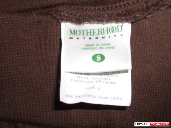 Motherhood kahki shorts