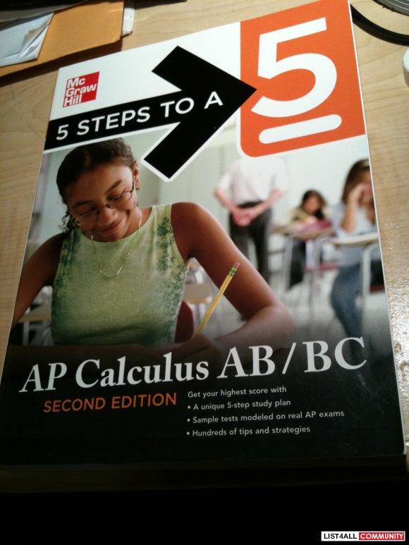 Mc Graw Hill AP Calculas AB/BC (like new, nothing written on)
