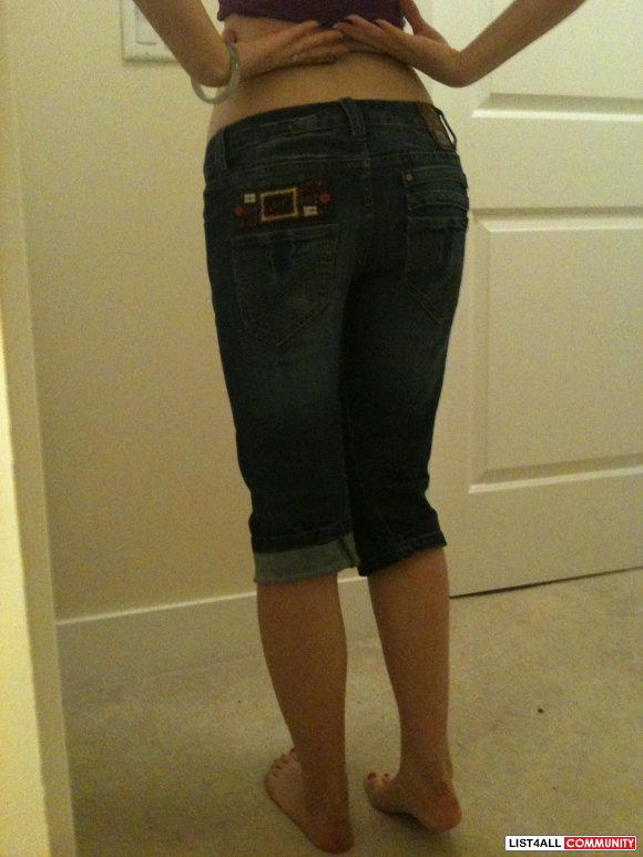 ONLY cropped jeans