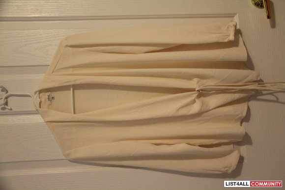 Wilfred Creme Blouse BNWT