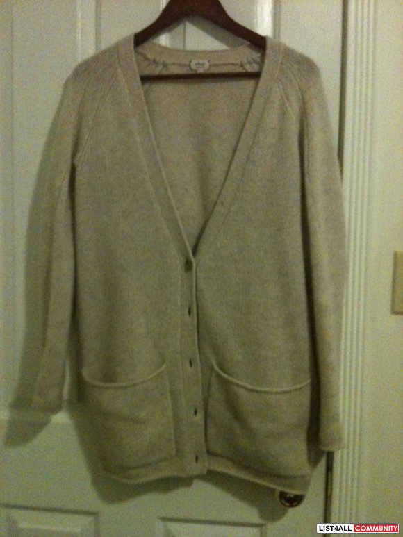 SALE: $50 WILFRED OVERSIZED CARDIGAN