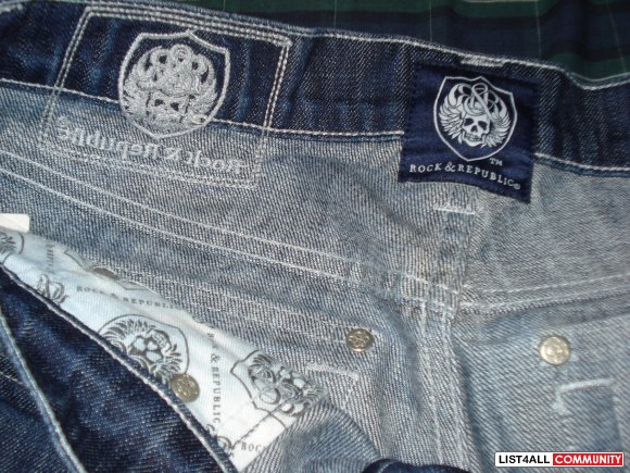 ROCK & REPUBLIC SZ 32