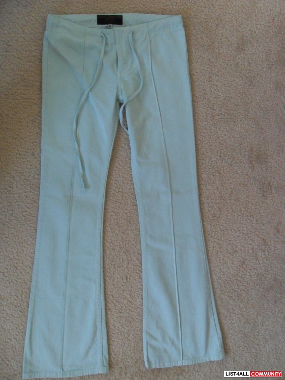 $20.00 Juicy Pants SZ:26 - L. Blue/Green