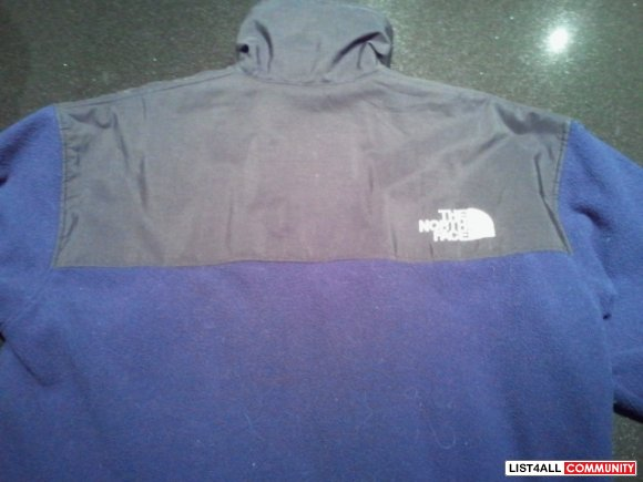 Men blue north Face