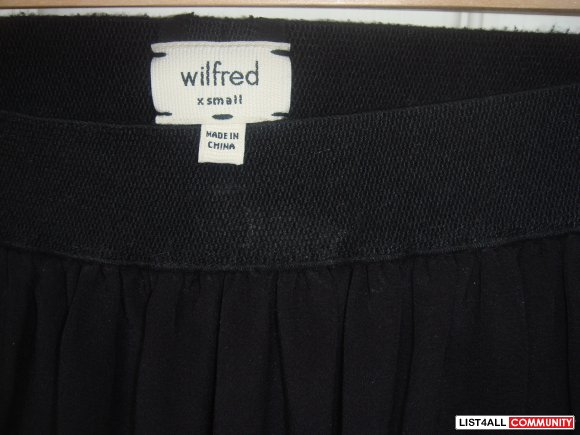 Wilfred Skirt with Lace Trimming