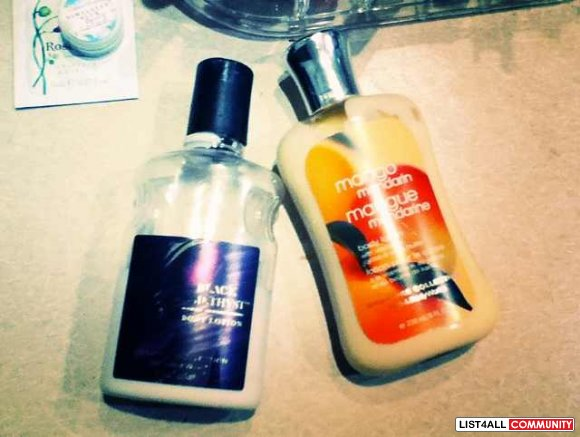Bath & Body Works Lotions (2 for $5)