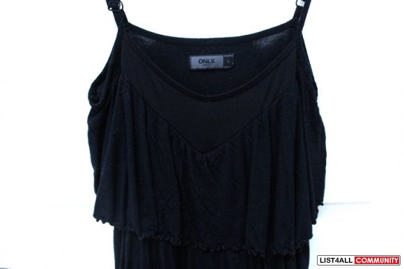 Only Ruffled/Tiered Layered Top