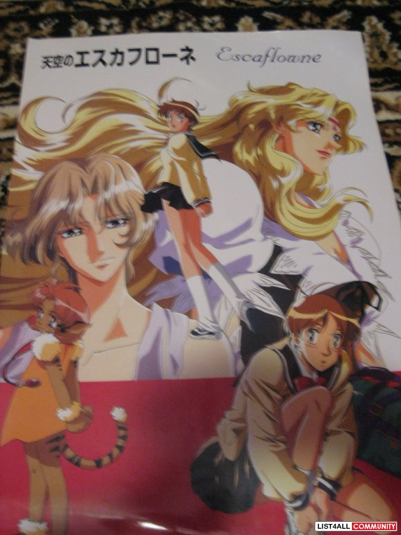 Assorted Glossy Anime Posters