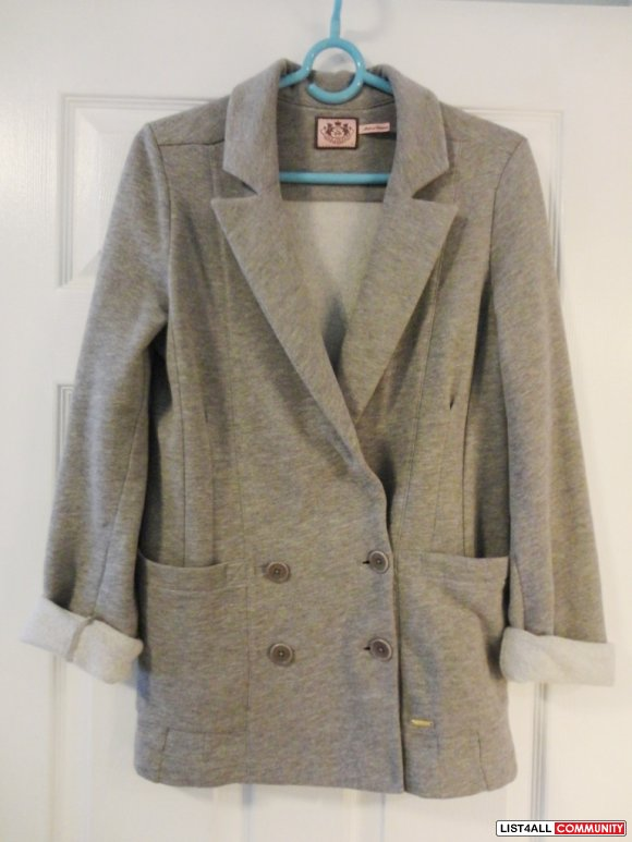 JUICY COUTURE boyfriend blazer size S