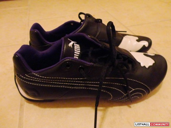PUMA black shoes size 6.5 (NWOT)