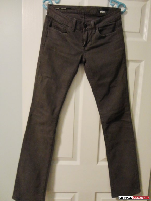 WILLIAM RAST sadie outlaw jeans size 25
