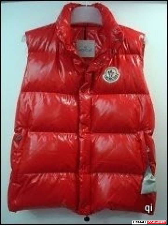 red moncler jacket replica