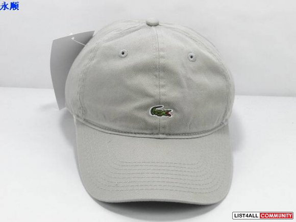 Authentic Golf Lacoste Baseball Cap Hat White Tennis www.kickshopping. 981c9a1f681