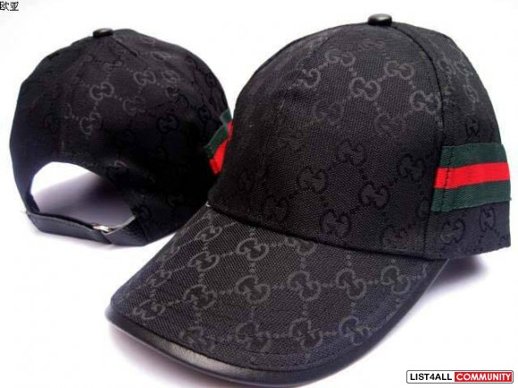 gucci black riding style patent hat cap small authentic. Black Bedroom Furniture Sets. Home Design Ideas