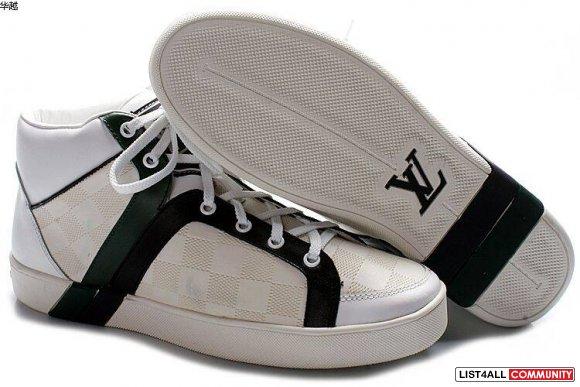 White louis vuitton sneakers for women