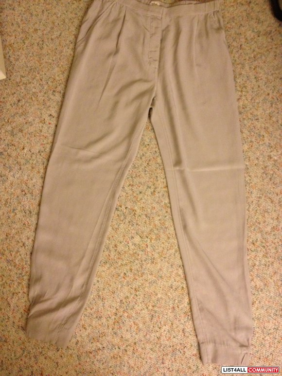 Aritzia WIlfred silk pants