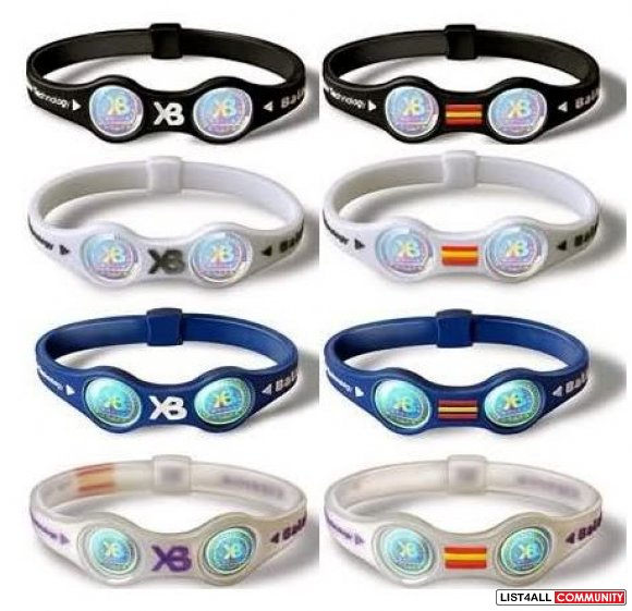 Xtreme Power Balance Silicon Energy Bracelets