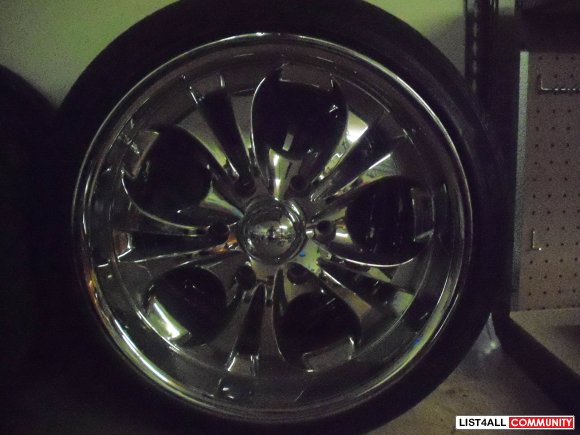 18inch boss rims all season low pro tires minniemouse list4all. Black Bedroom Furniture Sets. Home Design Ideas