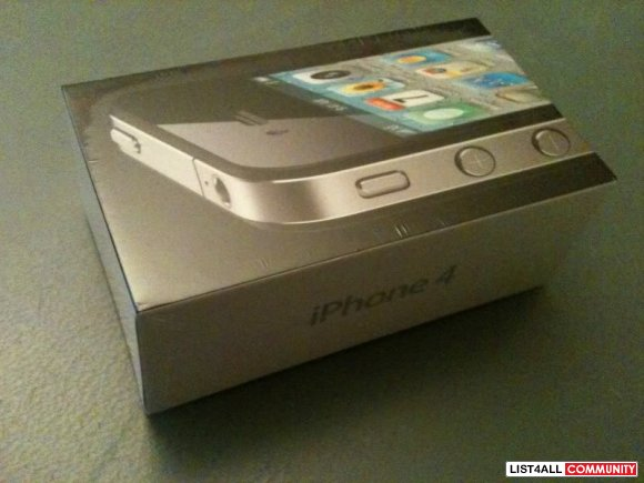 Black Iphone4 16gb BNIB