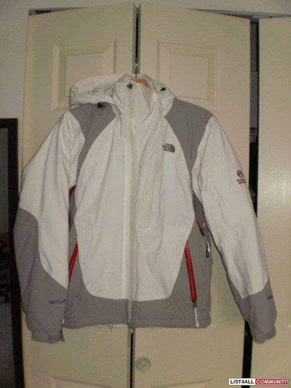Fuzzy North Face Jacket