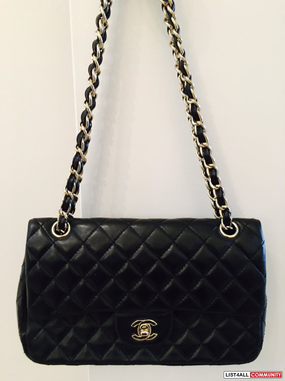 Chanel AAA Black classic double flap quilted bag