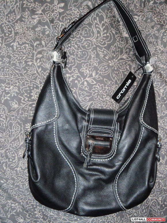 Crosia Handbags Latest Design : CROMIA ITALIAN DESIGNER LEATHER XL PURSE HANDBAG NEW WITH TAGS ...