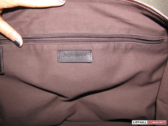 yves saint laurent bag for men