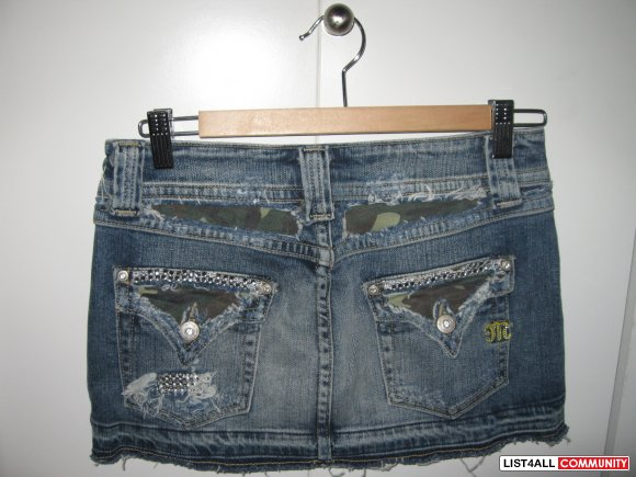 Miss Me jean skirt Size SMALL