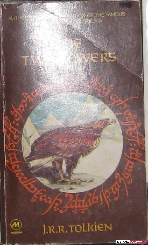 Lord of the Rings: Two Towers, by J.R.R. Tolkien